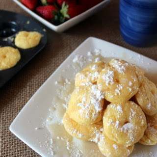 Ooey Gooey Butter Mini Donuts