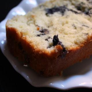 Blueberry & Olive Oil Coffeecake.