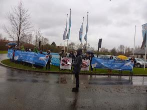 Photo: Pour la fermeture du delphinarium Boudewijn Seapark