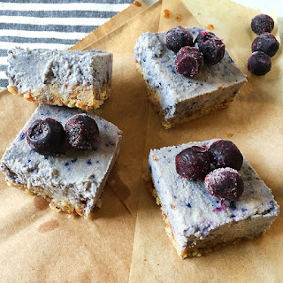 "Food Babe's Blueberry ""Cheesecake"" Bars"