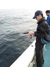 "Photo: 初乗船の""テンスイさん"""