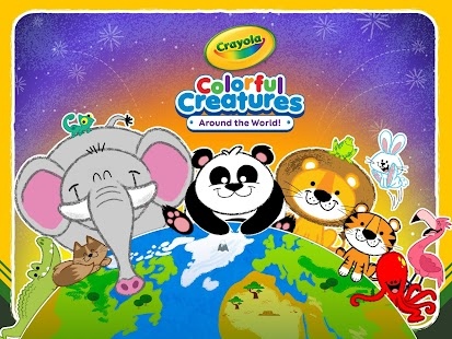 Crayola Colorful Creatures- screenshot thumbnail