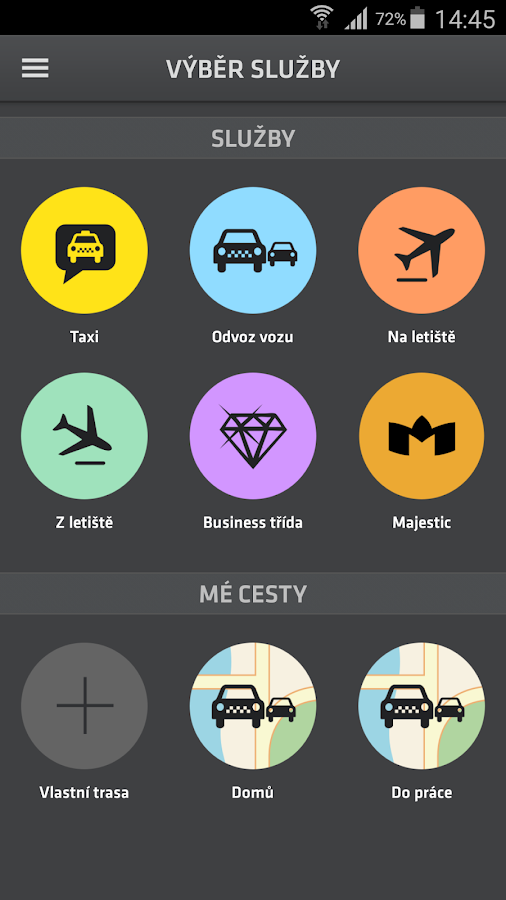 MODRY ANDEL - More than TAXI- screenshot