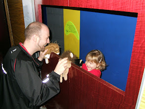 Photo: Puppet show at science museum.