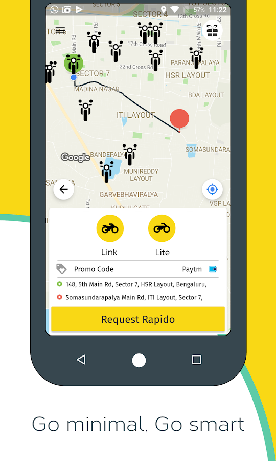 Rapido - Best Bike Taxi App- screenshot
