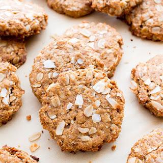 Peanut Butter Coconut Oatmeal Cookies (Vegan, Gluten Free, Dairy-Free, Whole Grain).