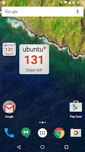 Ubuntu Countdown Widget- screenshot thumbnail