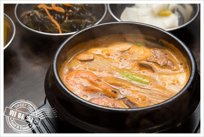 槿韓食堂海鮮大醬鍋