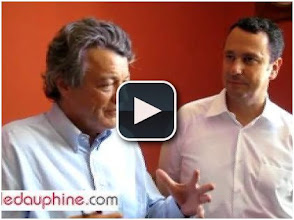Photo: 17/08/11...(2ème vidéo, en fin de discours): http://www.ledauphine.com/drome/2011/08/17/videos-candidature-de-borloo-plus-je-vais-plus-elle-s-impose-a-moi