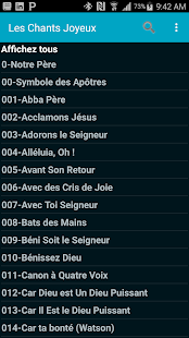 Download French Hymn Lyrics For PC Windows and Mac apk screenshot 1