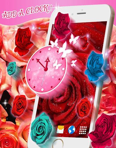 Red Rose Live Wallpaper  screenshots 4