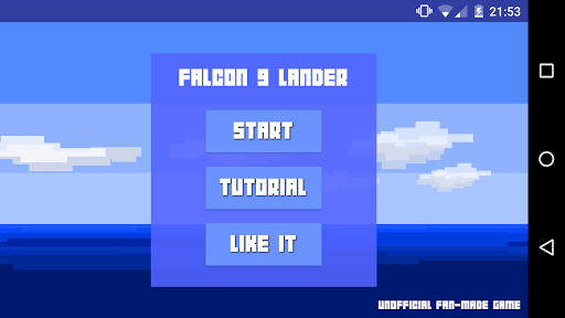 Falcon 9 Rocket Lander