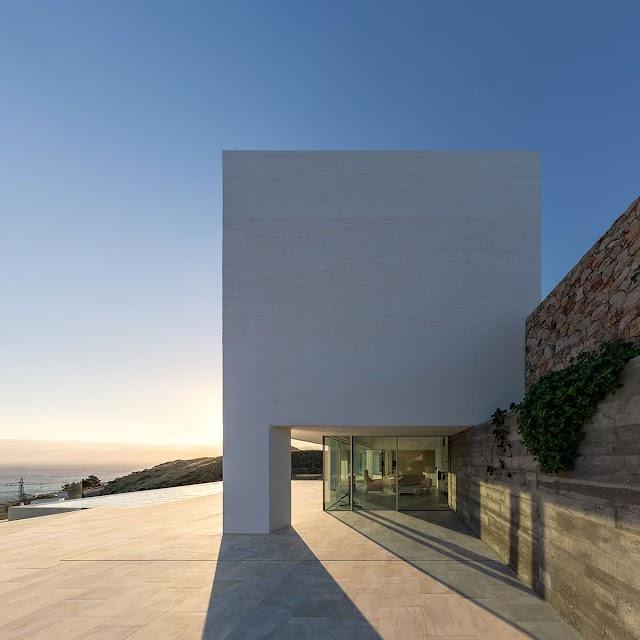 Imagen de Casa Jacaranda publicada en la página web de los premios Arquitectura Plus.