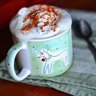 Almond Milk Hot Chocolate.