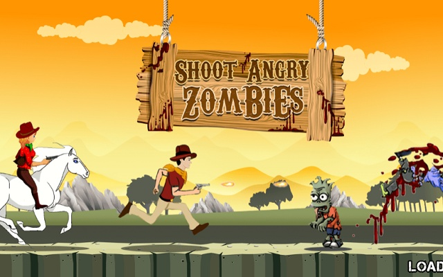 Shoot Angry Zombies Runner Game
