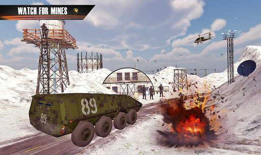 Us Army Truck Driving Truck simulator: Truck Games  captures d'écran 2