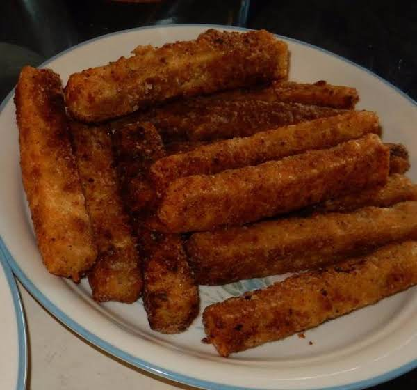 Fried, Spiced Tofu Recipe
