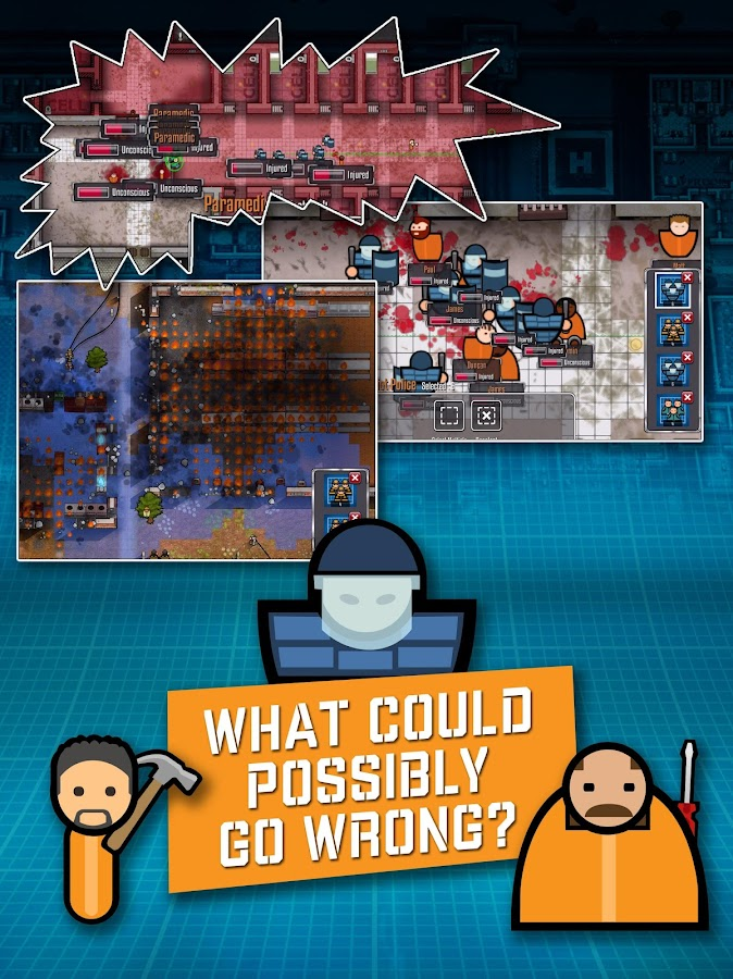 Prison architect mobile android apps on google play for Jail architect