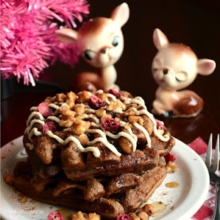 Grain Free Gingerbread Waffles