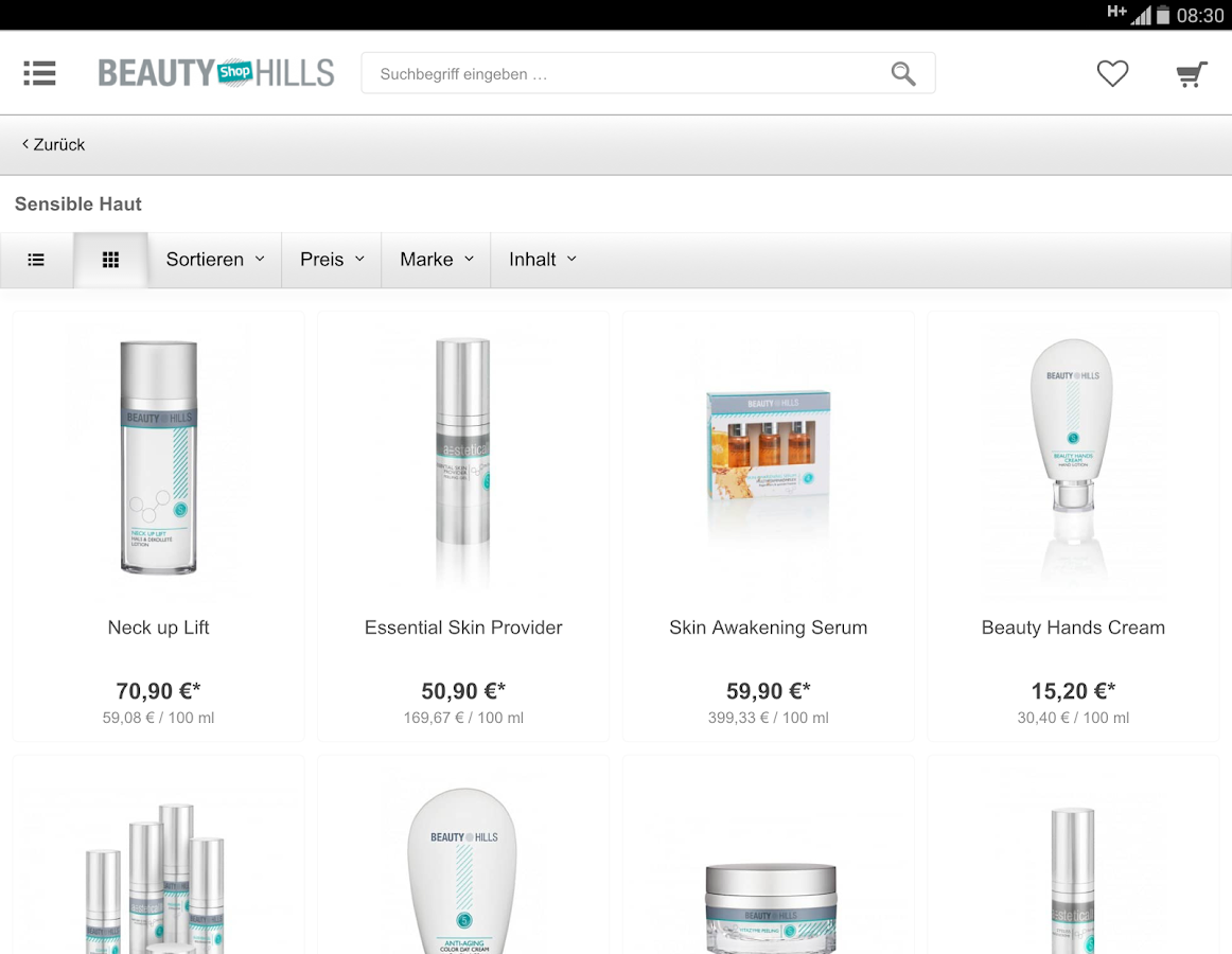 Beauty Hills Cosmetics- screenshot