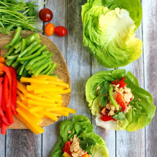 Spicy Tuna Lettuce Wraps