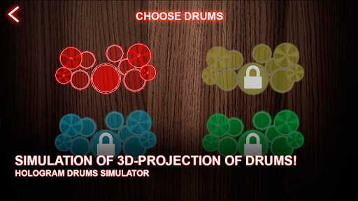 Hologram Drums Simulator Screenshot