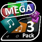Mega Theme Pack 3 iSense Music icon