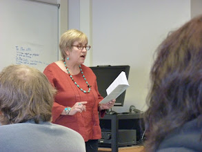 Photo: Judith Sornberger poetry readin 2/14/12