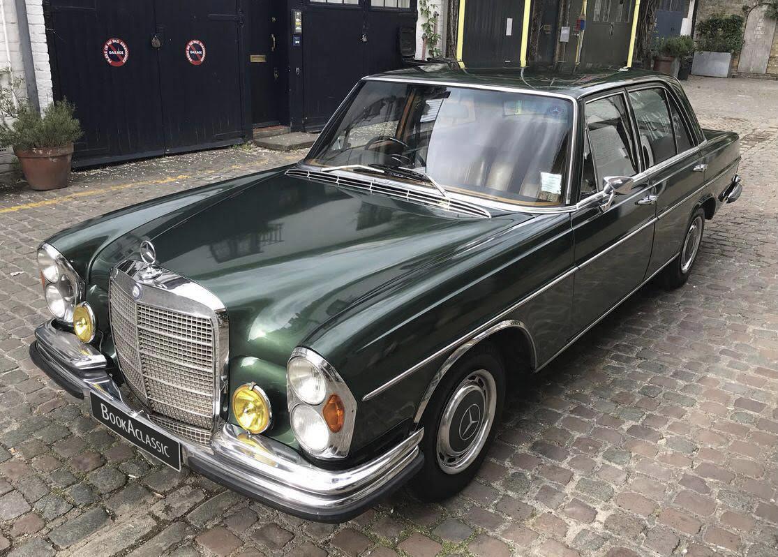 Mercedes-Benz W108 280se Saloon Hire Southampton