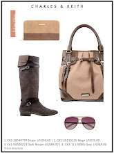 Photo: Autumn'12 Style 5  A palette of earthy tones for the fashionista to anchor statement looks    Visit your nearest store or CharlesKeith.com to find out more