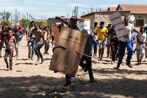 How portrayal of protest in South Africa denigrates poor people