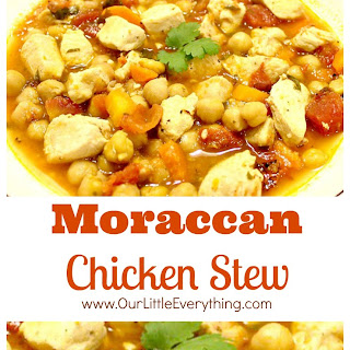 Moroccan Inspired Chicken Stew