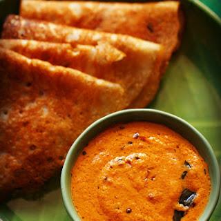 Kerala Style Red Coconut Chutney