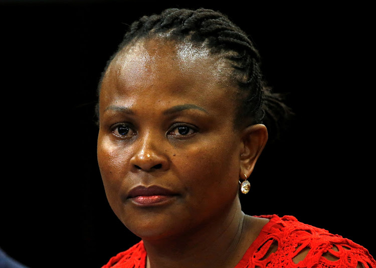 Public protector Busisiwe Mkhwebane. Picture: REUTERS