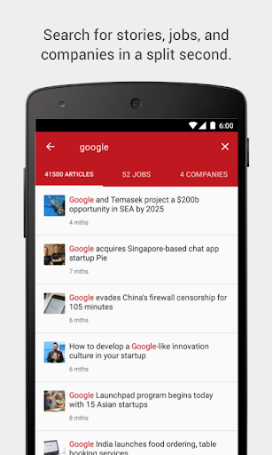 玩免費新聞APP|下載Tech in Asia: Startup News app不用錢|硬是要APP