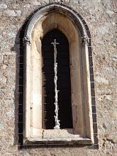 Photo: Millennium sculpture cross Duomo Taormina