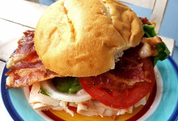 ~ Easy Turkey Blt W/ Spreadable Cheese - Cassies Recipe