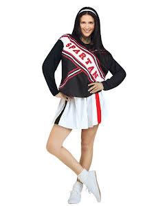 Spartan Cheerleader, Klänning