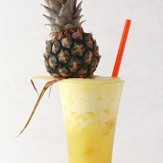 Diet Pineapple And Ginger Cocktail