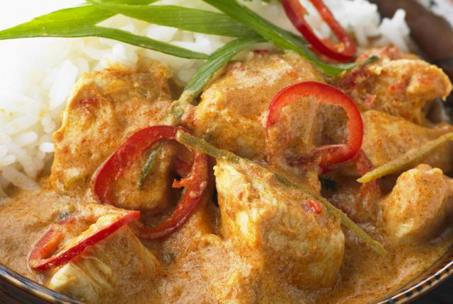 Easy Thai Coconut Curry Chicken Recipe | Yummly
