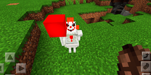 Awesome clown. Addon MCPE - náhled