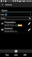 Screenshot of Interval Alert Timer