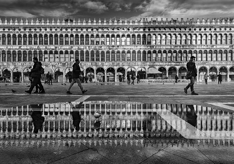 Quattro passi in piazza S. Marco di CarloBassi