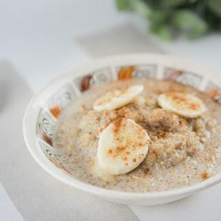 Quinoa & Banana Chia Porridge.
