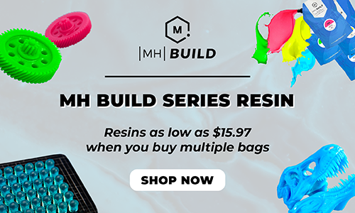 MH Build Series Resin: Top Tier Resin for Every Maker
