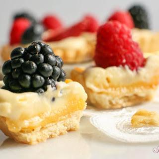 Raspberry Tartlets with Lemon Mascarpone Cream
