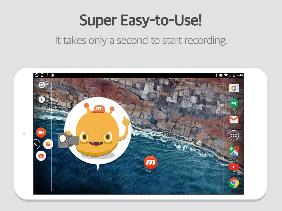 Mobizen Screen Recorder for LG- screenshot