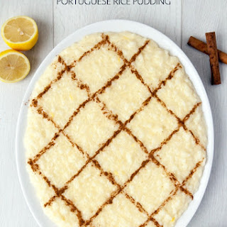 Arroz Doce (Portuguese rice pudding).