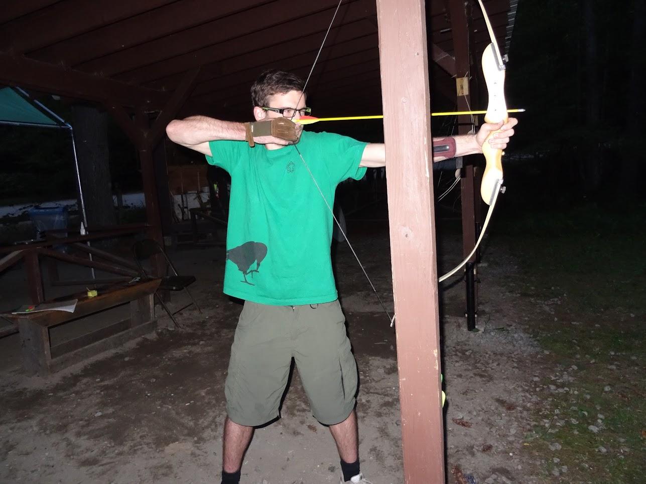 Střelba z luku.
