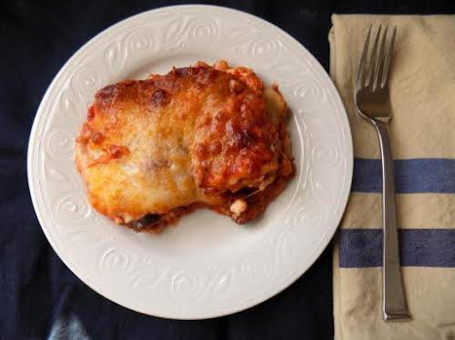 "My Beef Lasagna""I love making this lasagna, it has 6 different cheeses..."